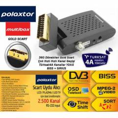 Polaxtor Multibox Mini Scart Uydu Al�c�s� New