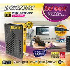 Polaxtor HD Box Full Hd Uydu Al�c� Usb Turksat4A