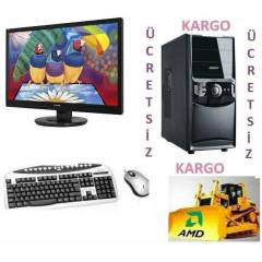 "20""LED AMD 6 �EK�RDEK+4 GB RAM+320gb HDD HAZR PC"