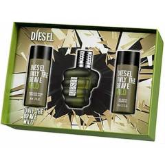 Diesel Only The Brave Wild Edt Erkek Set 75ml