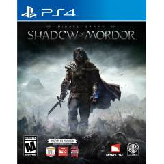 Middle Earth Shadow of Mordor PS4 oyun worldbaza