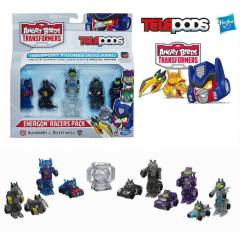 ANGRY B�RDS TRANSFORMERS TELEPODS 5 L� MULT� SET
