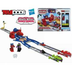 ANGRY B�RDS TRANSFORMERS TELEPODS OPT�MUS SET�