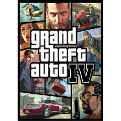 GRAND THEFT AUTO IV GTA 4 PC STEAM CD KEY