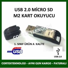 USB 2.0 M�CRO SD, KART OKUYUCU CARD READER