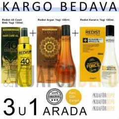 REDIST 40DOZ150ML+KERAT�N 100ML+ARGAN YA�I 100ML