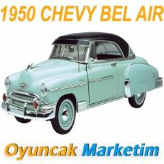 MOTORMAX 1:18 MODEL ARABA 1950 CHEVY BEL AIR