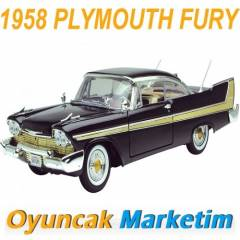 MOTORMAX 1:18 MODEL ARABA 1958 PLYMOUTH FURY