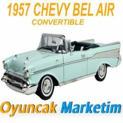 MOTORMAX 1:18 MODEL ARABA 1957 CHEVY BEL AIR CON