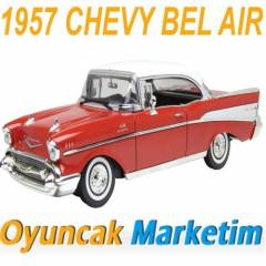 MOTORMAX 1:18 MODEL ARABA 1957 CHEVY BEL AIR