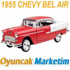 MOTORMAX 1:24 MODEL ARABA 1955 CHEVY BEL AIR