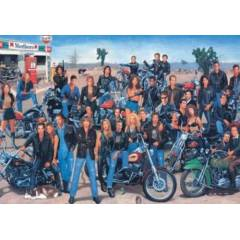 Hollywood Bikers 500 PAR�A PUZZLE