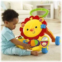Fisher Price M�zikli Aslan Y�r�te�