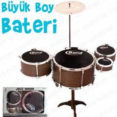 Oyuncak Bateri Davul Seti Jazz Drum Kit Set