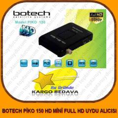 BOTECH PİKO 150 HD MİNİ FULL HD UYDU ALICISI