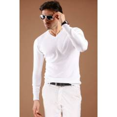 Alb Slim Fit Triko  504