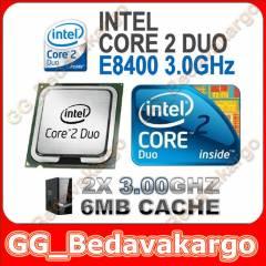 iNTEL Core 2 Duo E8400 i�lemci - SIFIR FATURALI