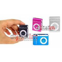 POWERWAY Mini Mp3 Player + Denge Blk. Hediyeli