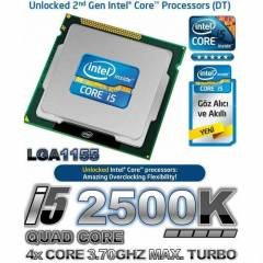 �5 2500K 3.70GHZ TURBO CORE QUAD LGA1155 ��LEMC�