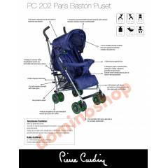 pierre cardin pc 202 baston bebek arabası*2015*
