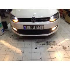Vw Polo Sis Far� + Amerikan + Led