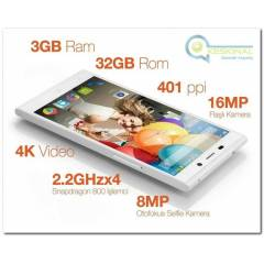 GENERAL MOBILE DISCOVERY ELITE 32GB BEYAZ