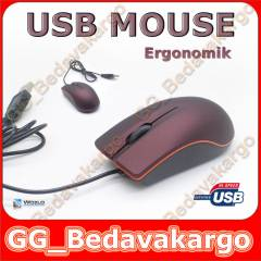 Lenovo Usb Optik Mouse Maus Fare Kaliteli