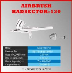 DUAL ACTION AIRBRUSH BADSECTOR 130A