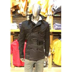 barcha japan style slim fit k��l�k trenchcoat