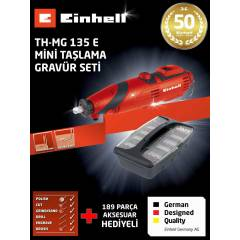 MİNİ TAŞLAMA GRAVÜR SETİ EİNHELL TH-MG 135 E