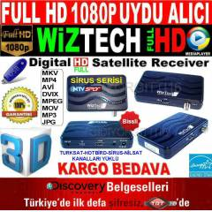 W�ZTECH FULL HD 1080P UYDU ALICI + MEDYA PLAYER