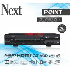 Next Point Çift Tuner Full HD Uydu Alıcısı