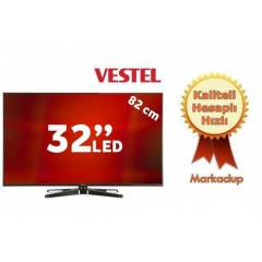 Vestel 32PH8075 32' Uydu Al�c�l� 3D SMART LED TV