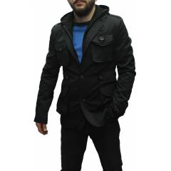 Hollywood Model Slim Fit Palto Kaban Mont Blazer