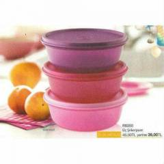 TUPPERWARE �� �EKERPARE 3ADET 600ML