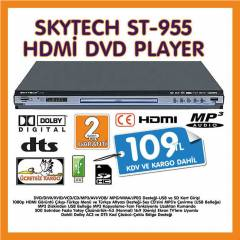 SKYTECH ST-955 HDMİ  DVD PLAYER MULTİPAZARDAN