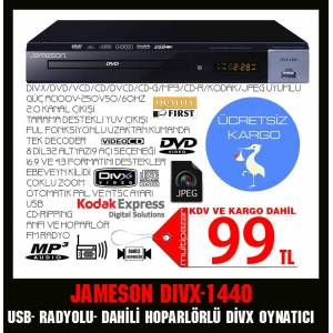 JAMESON DWIX-1440 DVD PLAYER RADYOLU HOPERL�RL�