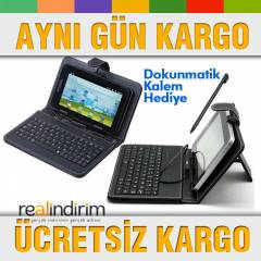 "10.1"" in� T�rk�e Klavyeli Tablet K�l�f� PD-050P"
