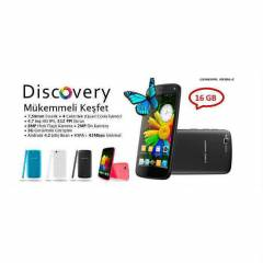 GENERAL MOB�LE D�SCOVERY 16GB S�YAH-BEYAZ
