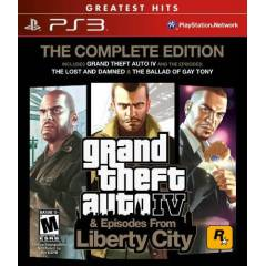 GTA 4 EPISODES FROM LIBERTY CITY COMPLETE ED.PS3
