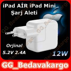 iPad Air iPad Mini �arj Aleti 12W Orjinal 2.4A