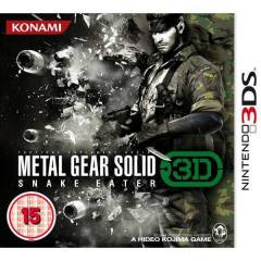 METAL GEAR SOLID SNAKE EATER 3DS NINTENDO 3DS