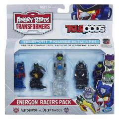 ANGRY B�RDS TRANSFORMERS TELEPODS 5'L� PAKET