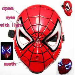 IŞIKLI MASKE ÖRÜMCEK ADAM SPİDERMAN THE NEW MASK
