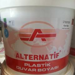 ALTERNATİF PLASTİK BOYA 3 KG