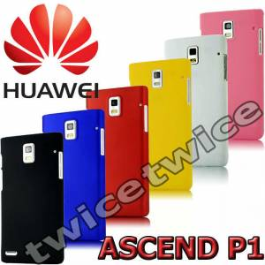 HUAWEI ASCEND P1 KILIF RUBBER KAPAK HARD CASE