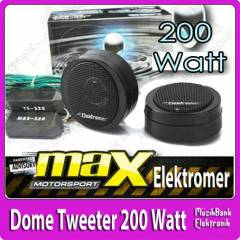 Dome Tweeter 200W Elektromer Gerçek Tweeter