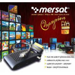 MERSAT CHAMPİON HDMI SCART FULL HD UYDU ALICISI