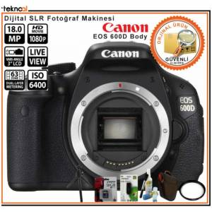 "Canon EOS 600D Body 18Mp 3"" LCD DSLR"