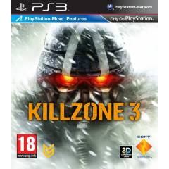 KILLZONE 3 3D PS3 MOVE ps3 oyun